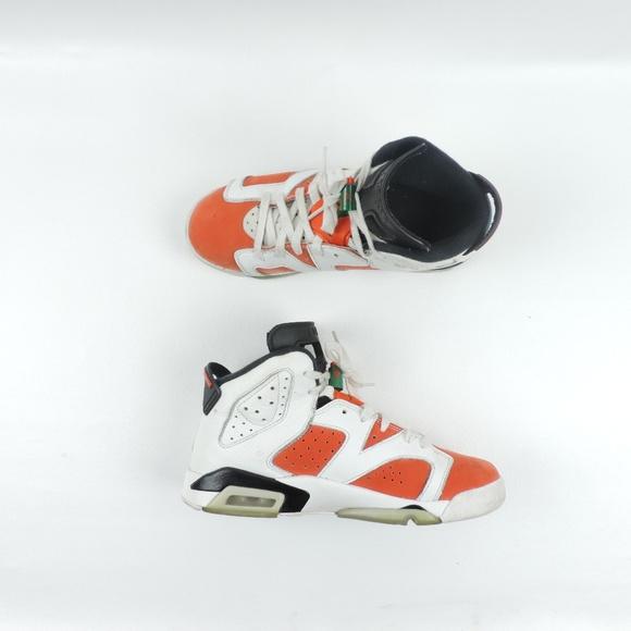 the best attitude fd02f a2745 Nike Air Jordan 6s 'Gatorade' Size 6 Youth
